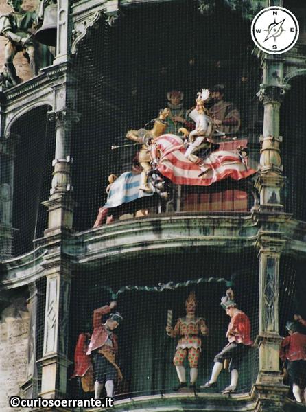 Marienplatz Monaco di Baviera - Glockenspiel
