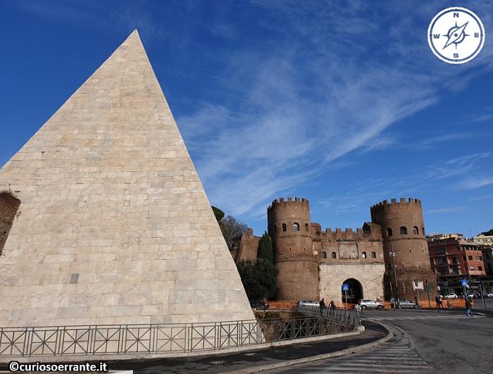 Piramide di Caio Cestio e Piazzale Ostiense