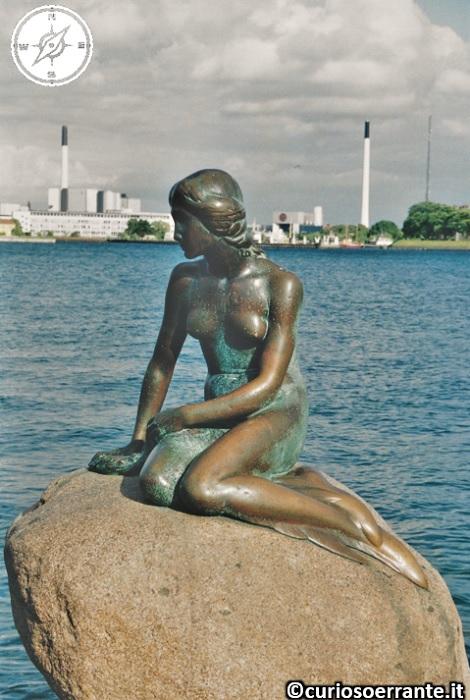 La Sirenetta di Andersen a Copenaghen