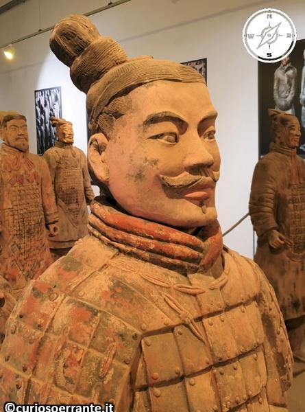 L'esercito di Terracotta - particolari di un guerriero
