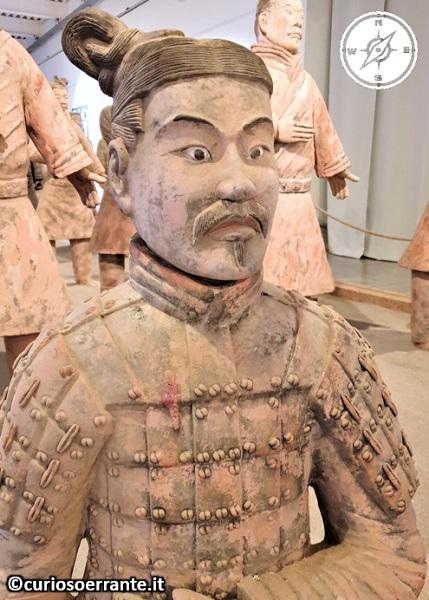 L'esercito di Terracotta - particolari di un soldato