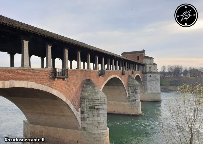 Pavia - Il ponte coperto sul Ticino