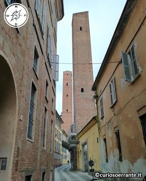 Pavia - Torri Medioevali vicino porta San Giovanni