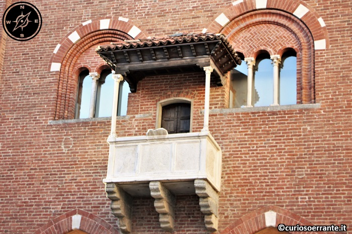 Arengario di Monza - La parlera balconcino a loggetta
