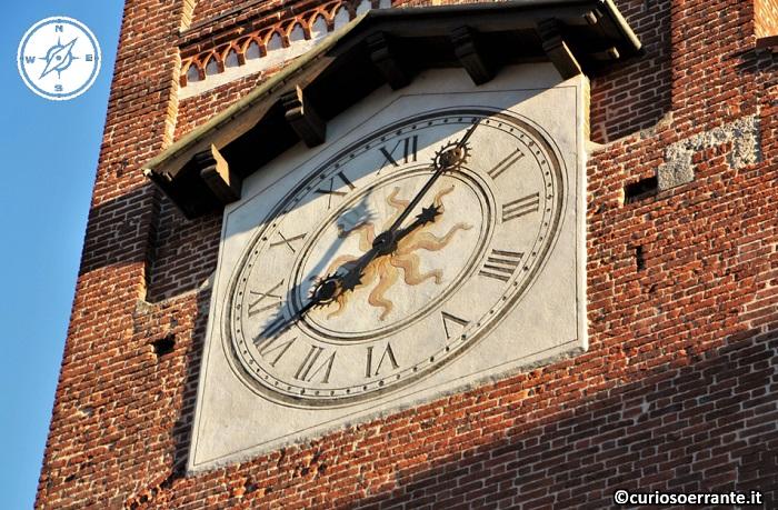 Arengario di Monza - Orologio del campanile