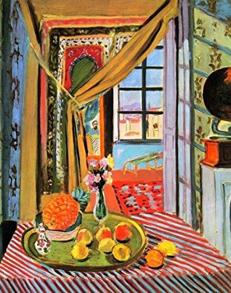 Henri Matisse - Interni a Nizza (1919-1920)