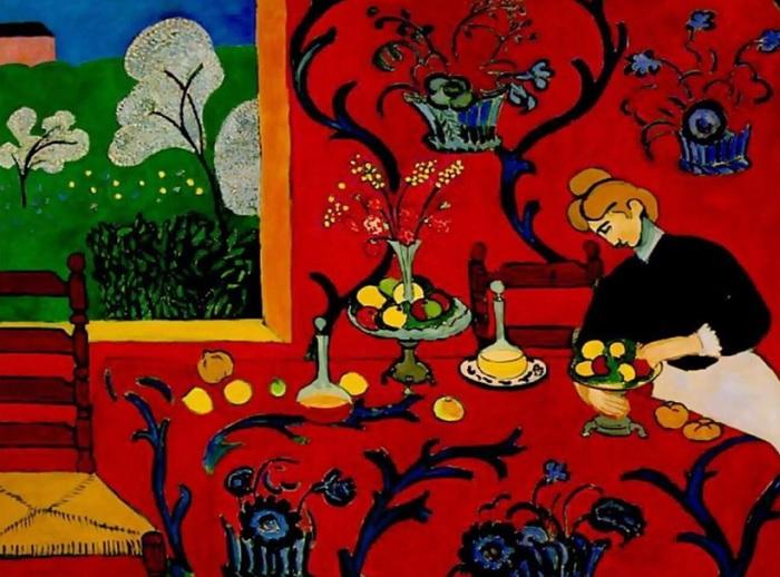 Henri Matisse - La stanza rossa 1908