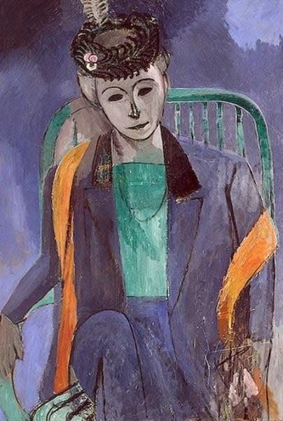 Henri Matisse - Ritratto della moglie dell'artista (1912-1913)