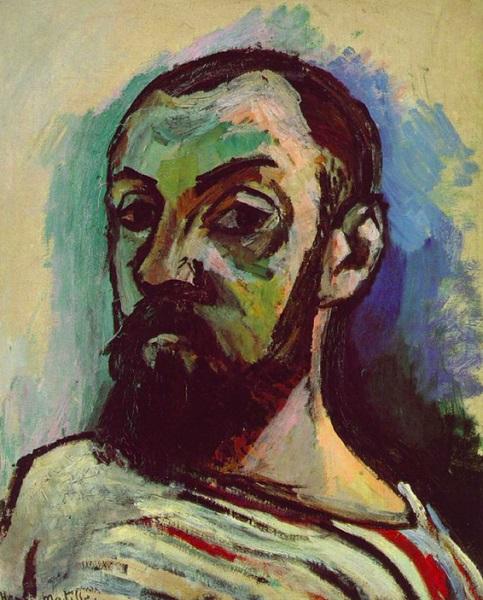 Henri Matisse - autoritratto (1906)