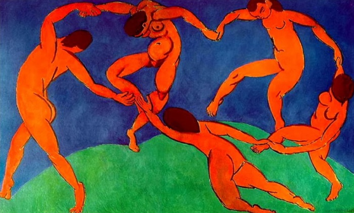 Henri Matisse - la danza (1909)