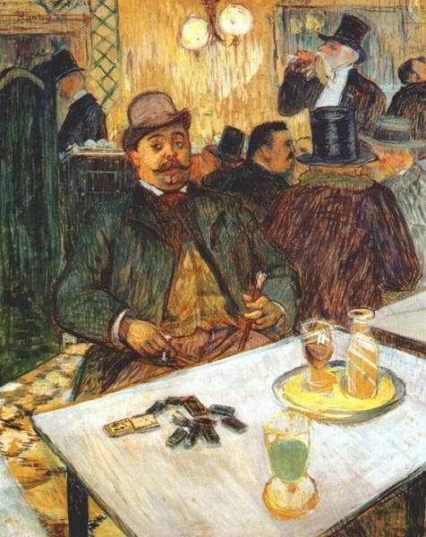 Henri de Toulouse-Lautrec - Monsieur Boileau 1893
