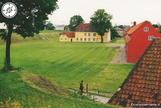 Kastellet - struttura militare piena di verde