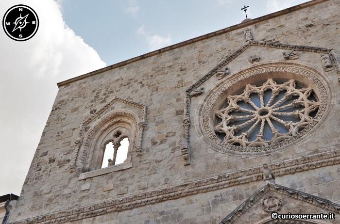 Larino - cattedrale di San Paolo rosone