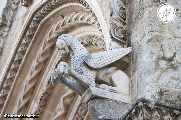 Larino- particolare della chiesa di san pardo