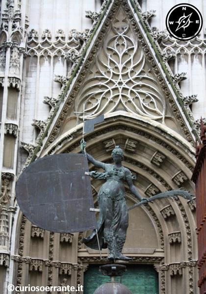 Siviglia - Puerta del Bautismo della Cattedrale