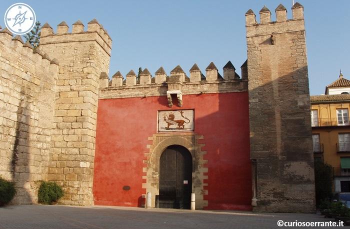 Siviglia - Puerta del Leòn Real Alcazar