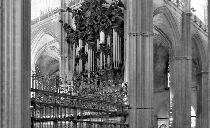 Siviglia - interno della cattedrale