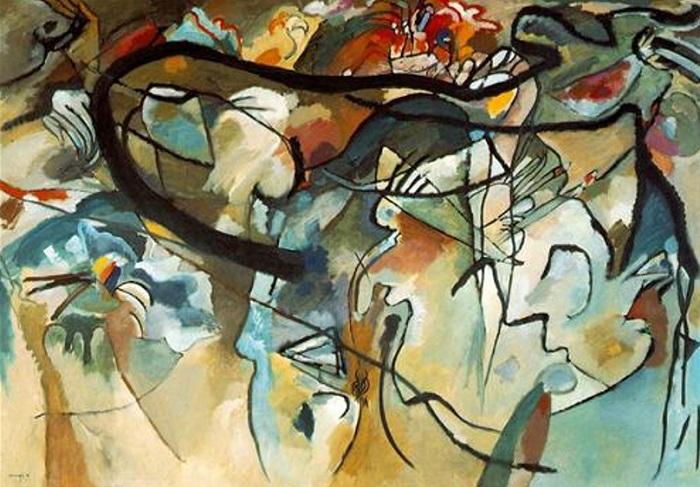Vasilij Kandinskij - Composizione V (1911)