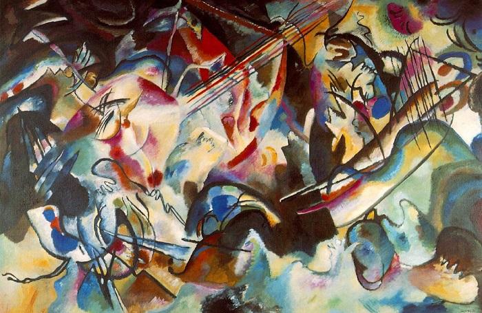 Vasilij Kandinskij - Composizione VI (1913)