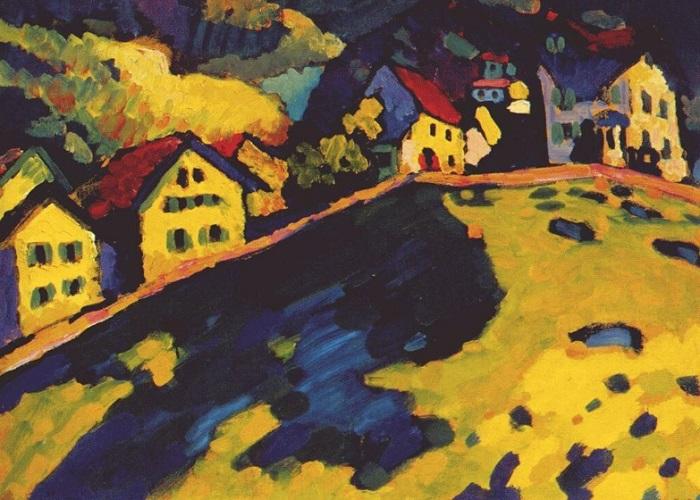 Vasilij Kandinskij - Murnau (1909)
