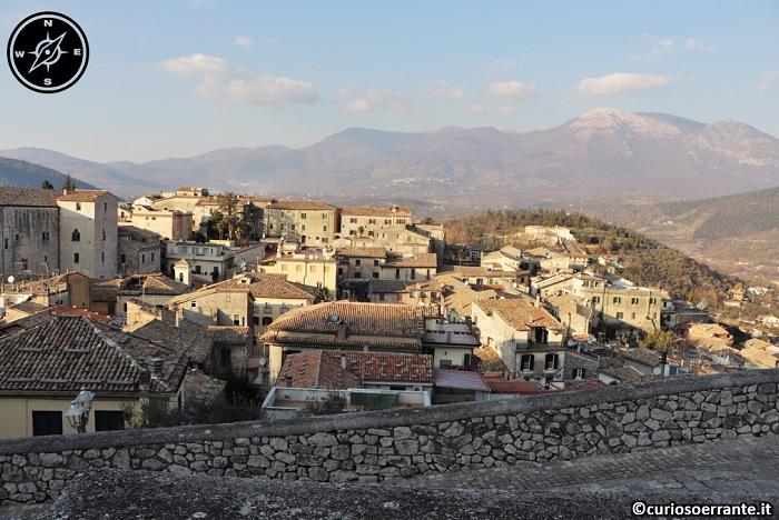 Acropoli di Alatri - Vista del centro abitato