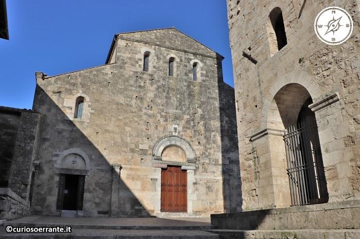 Anagni e la cattedrale di Santa Maria - facciata romanica