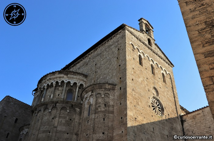 Anagni e la cattedrale di Santa Maria - le absidi