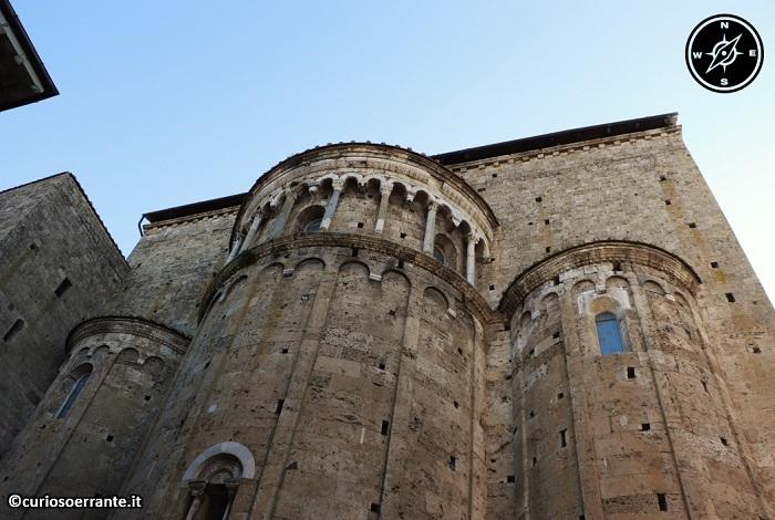 Anagni e la cattedrale di Santa Maria - le tre absidi