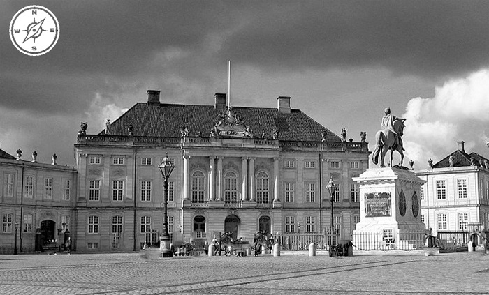 Copenaghen - Amalienborg Slot
