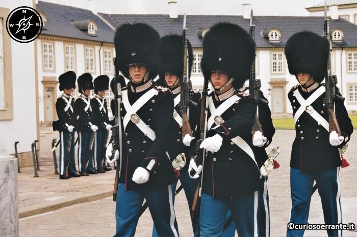 Copenaghen - Cambio della guardia delle livgarden