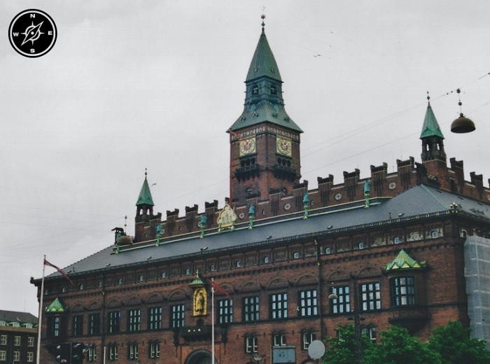 Copenaghen - Radhus Palazzo del Comune