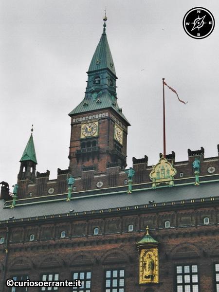 Copenaghen - Radhus il Municipio