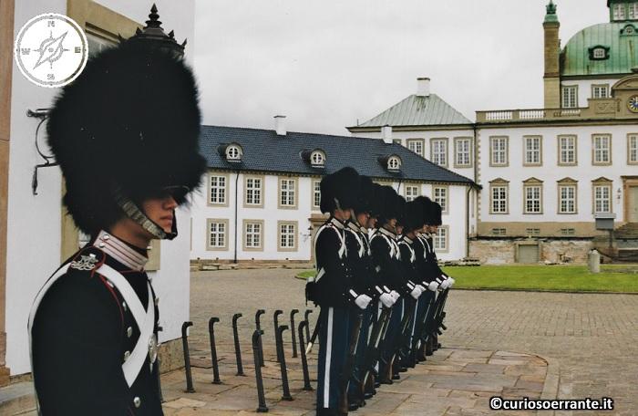 Fredensborg - cambio della guardia