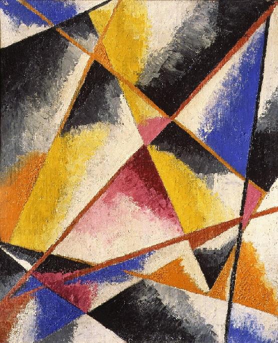 Ljubov Popova - Composizioni senza titolo (1916)