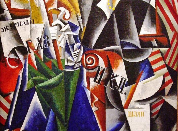 Ljubov Popova dal cubismo al suprematismo dell'avanguardia russa