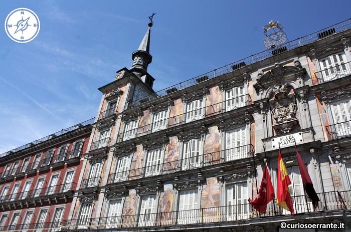 Madrid - Plaza Mayor particolare