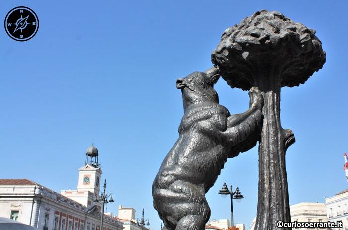 Madrid - Puerta del Sol - simbolo della città