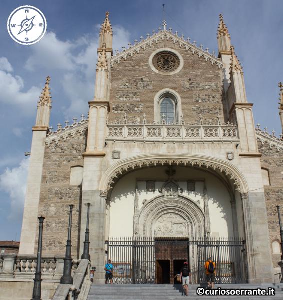Madrid borbonica - Chiesa di San Jeronimo el Real facciata