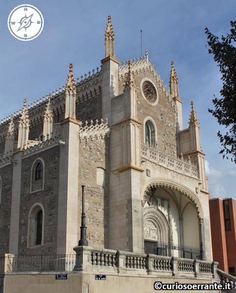 Madrid borbonica - Chiesa di San Jeronimo el Real