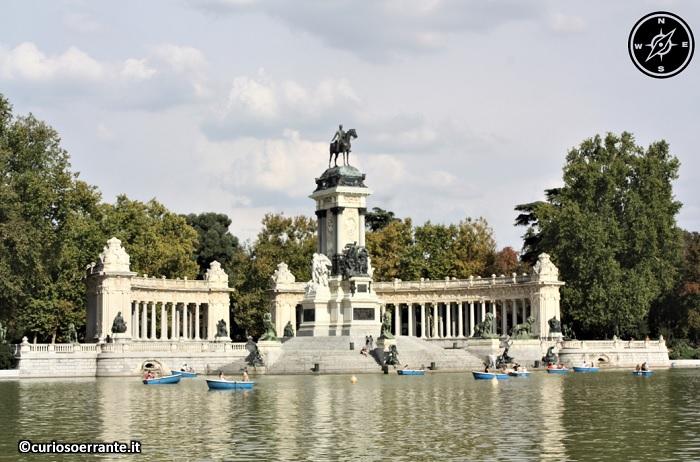 Madrid borbonica - Monumento al re Alfonso XII
