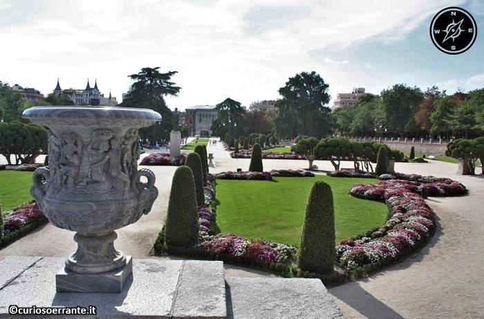 Madrid borbonica - Parque del Retiro