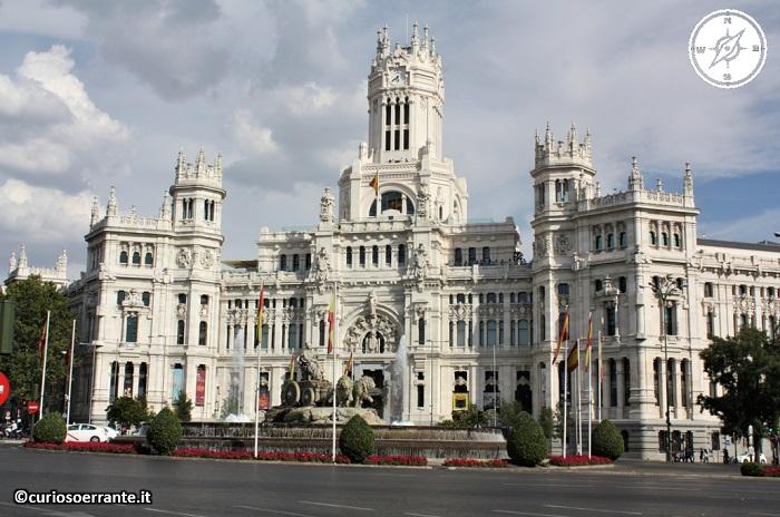 Madrid borbonica - Plaza de Cibeles