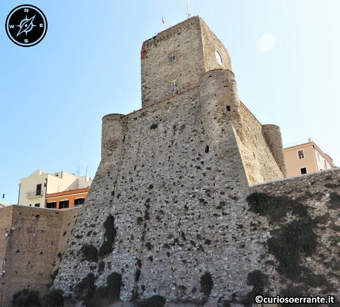 Termoli - castello svevo visto dal mare