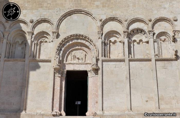 Termoli - la facciata della cattedrale