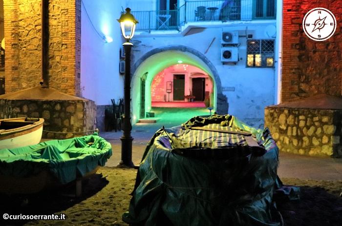 Atrani di notte - Borgo antico di pescatori