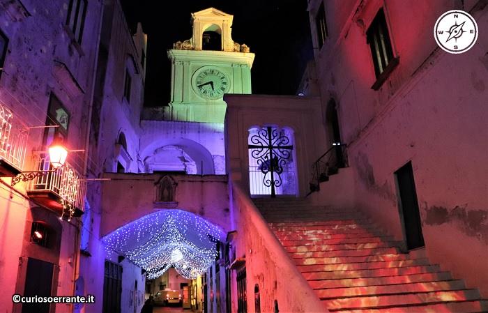 Atrani di notte - Chiesa di San Salvatore de' Birecto