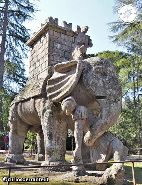 Il Parco dei Mostri di Bomarzo - Gli elefanti di annibale