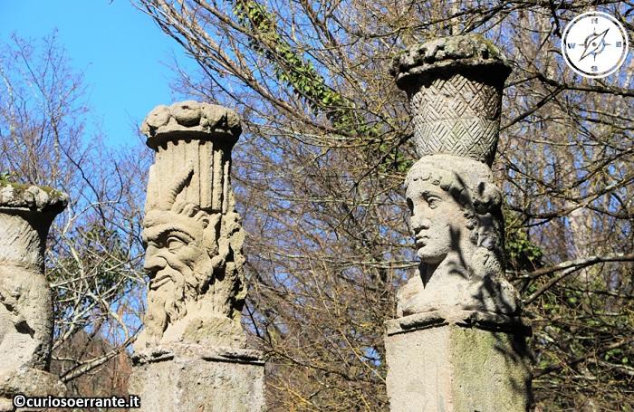 Il Parco dei Mostri di Bomarzo - Sculture su mitologie classiche
