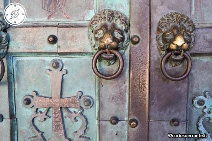 Amalfi - Portale del Duomo di Sant'Andrea Apostolo