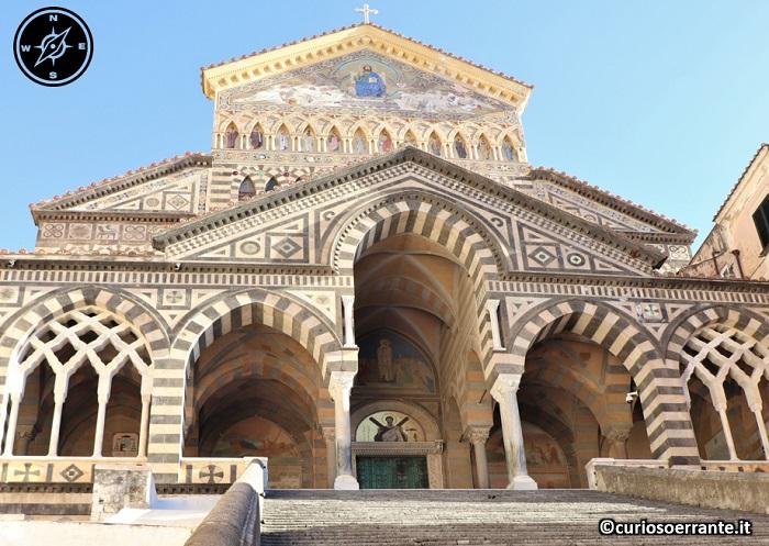 Amalfi -facciata del Duomo di Sant'Andrea